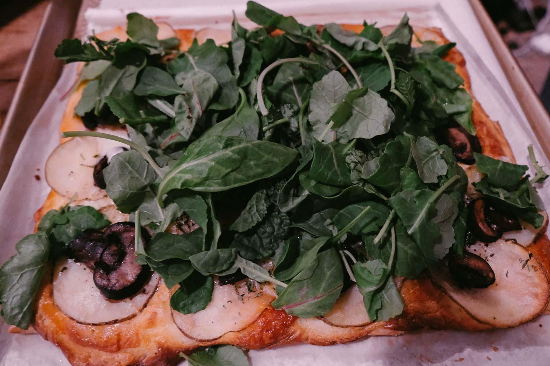 Goat Cheese Potato Pizza Tartlet | the Tastiest Book